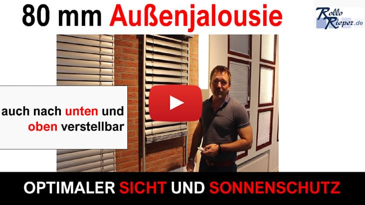 Youtube Film Vorschaubild - Markise Romana