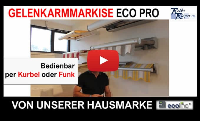 Youtube Film Vorschaubild - Markise Eco Pr