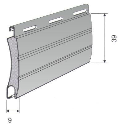 eco line rolll den mit 39mm lamellen bei rollo rieper. Black Bedroom Furniture Sets. Home Design Ideas
