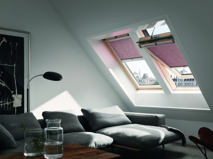 dachfenster rollos plissees passend f r velux fenster. Black Bedroom Furniture Sets. Home Design Ideas