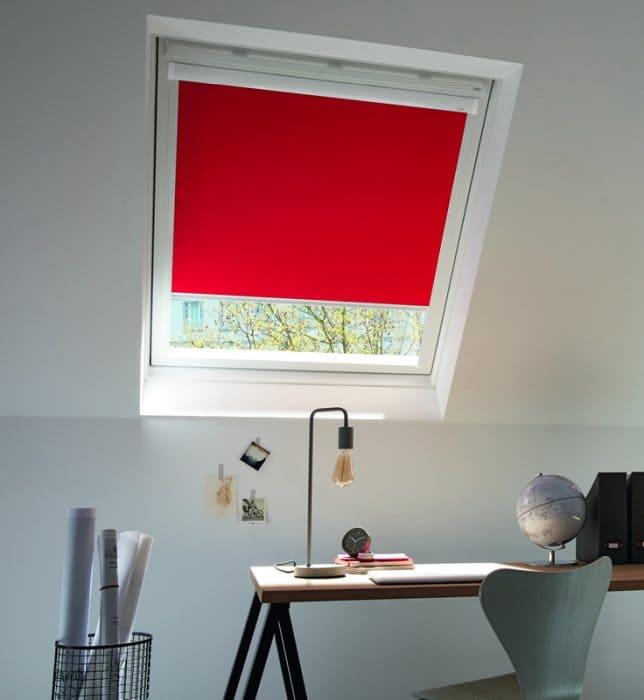 dfa rollos f r velux dachfenster roto fakro. Black Bedroom Furniture Sets. Home Design Ideas