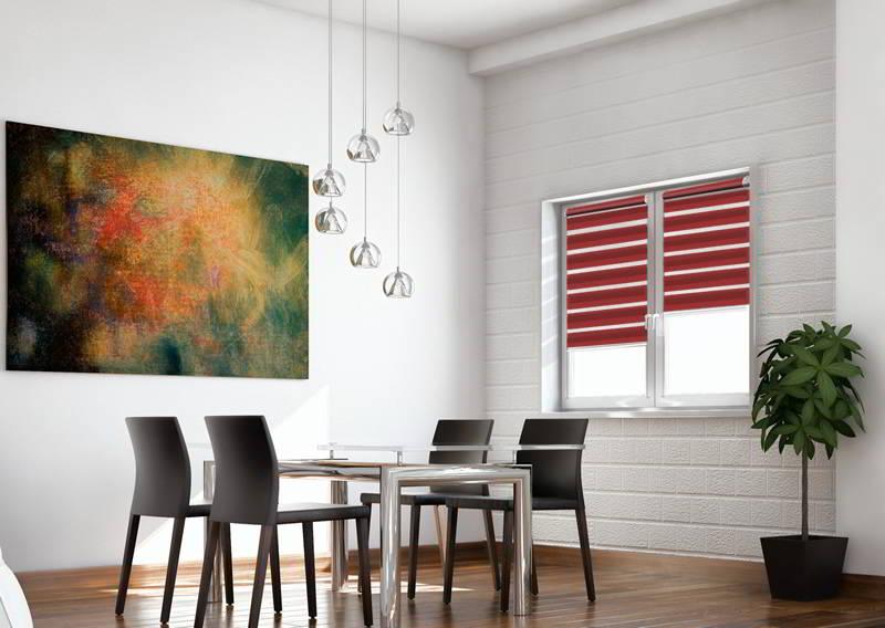 mini light doppelrollo g nstig nach ma. Black Bedroom Furniture Sets. Home Design Ideas