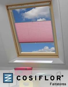 Komplett Neu Rollos und Plissee nach Maß für VELUX® Fenster XI72