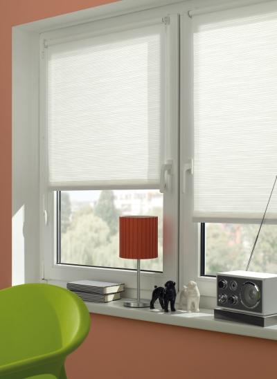 easyfix rollo dekor streifen verschiedene gr en lichtdurchl ssig wei wei. Black Bedroom Furniture Sets. Home Design Ideas