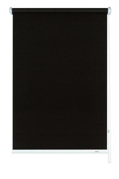 seitenzug rollo uni verschiedene gr en lichtdurchl ssig dunkelbraun. Black Bedroom Furniture Sets. Home Design Ideas
