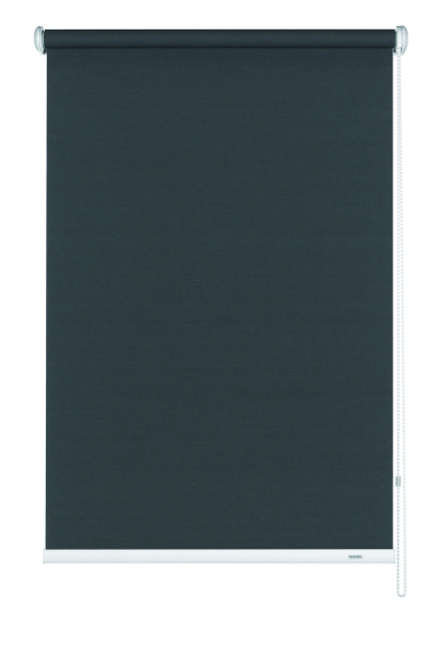 seitenzug rollo uni verschiedene gr en lichtdurchl ssig grau. Black Bedroom Furniture Sets. Home Design Ideas